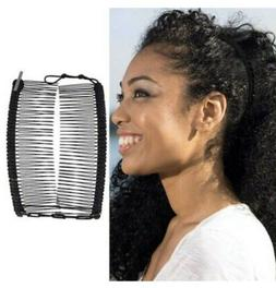 HairZing - Hair Accessories for Women - Banana Double Comb C