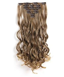 "Onedor 20"" Curly Full Head Clip in Synthetic Hair Extensions"