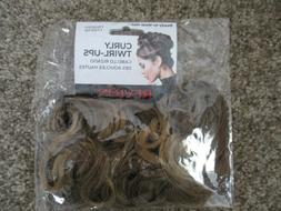 REVLON Curly Twirl-Ups Ready to Wear HAIRPIECE Hair Extensio
