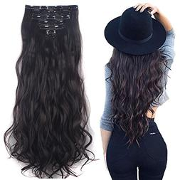 3-5 Days Delivery 7Pcs 16 Clips 24 inch Wavy Curly Full Head