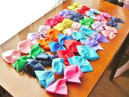 Decora Lolita Grosgrain Ribbon Alligator Clip Hair Bow 29 Co