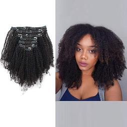 AmazingBeauty Double Weft 8A Grade Big Thick 4B 4C Afro Coil