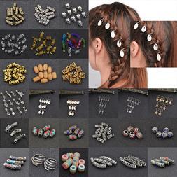 Dreadlock Hair Beads Dread Beads Hair Braid Pins Rings Clips