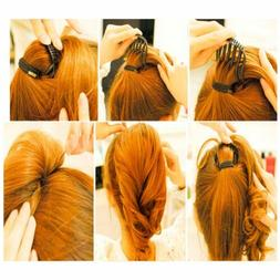 Durable Hot Sale Ponytail Hair Clip Comb Bumpits Bouffant Vo