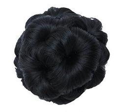 Fake Hair Bun with Hair Clip, Easy to Wear