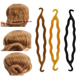 fashion 2pcs magic hair twist styling clip