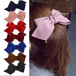 Fashion Girl Headwear Ribbon <font><b>Bow</b></font> <font><