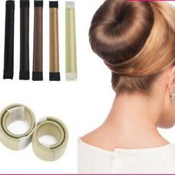 Fashion Hair Styling Donut Former Foam French-Twist Magic DI