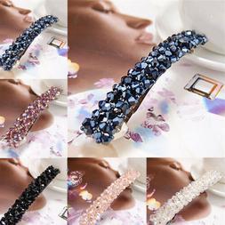 Fashion Women Girls Bling Headwear Crystal Rhinestone Hair C