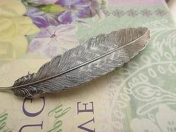 FEATHER HAIR CLIP FEATHERS HAIR BARRETTES FRENCH CLIPS THICK