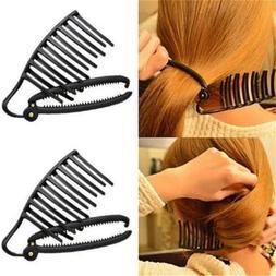 Femal Hair Device Hair Disk Hair Clip Bun Maker Women Hair C