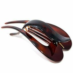 Parcelona French Pelican Tortoise Shell Celluloid Salon Hing