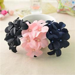 For Girls Headbands Cloth Flower Hairclips Hair Clip Barrett