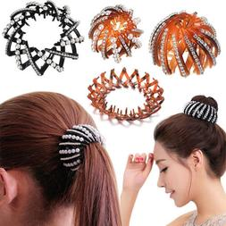 Girls Nest Shape Hair Claw Ponytail Holder Hair Clip Women H