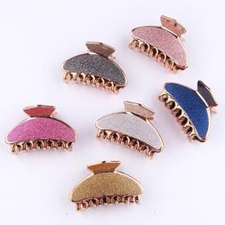 Glitter Colorful Women Girls Hairpins Crab <font><b>Hair</b>
