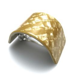 "Gold 2.5"" Camila Paris CP2354 Ponytail Holder Cuff Barrette"