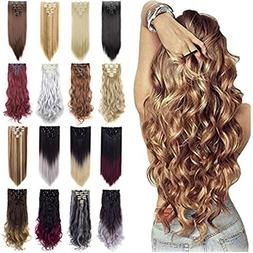 Grade 7A 160g 23-24 Inch Real Thick Double Weft Full Head Cl