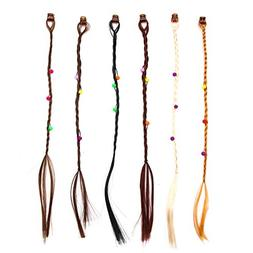 Buorsa 12 Pcs Hair Braid Extensions Attachments Girls Handma