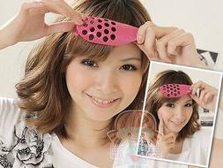 Hair Care Salon Japanese Doll Bangs Fringe PVC Clip