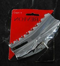 hair clip 1996 silver plastic clip hair