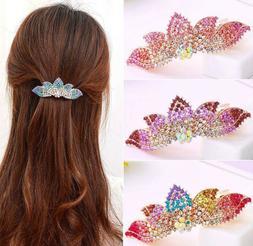 Hair Clip Crown Shape 9.5X3.5cm