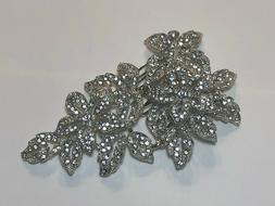 INC Hair Clip Silver Tone New Over Stock With Out Tags