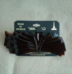 CARAVAN HAIR CLIP STYLE 380 BOW MADE IN EUROPE ART DECO 4.25