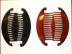 Hair Combs Extra Large Black  Brown Fashion Pin Clip Hairpin