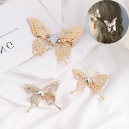 Hair Jewelry Bridal Hairpins Bobby Pins Butterfly Hair Clips