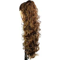 hair pony tail clip claw