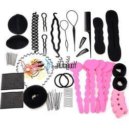 Hair Styling Accessory 20PC/ Clip Maker Tools Foam Sponge Bu
