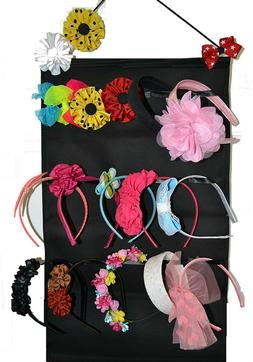 Headband / hair band  holder, bow hair clip organizer for wa