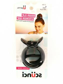 SCUNCI HIDDEN HINGE JAW CLIP FOR EXTRA THICK HAIR - 1 PC.