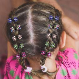 Hot 12pcs/<font><b>pack</b></font> Cute Crystal Butterfly Fl