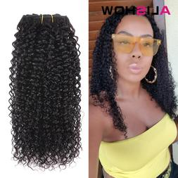 Alishow Indian Afro Kinky Curly Weave Remy <font><b>Hair</b>