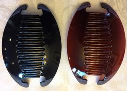 Jumbo Banana Comb Clip Thick Hair Riser Claw Interlocking Ja