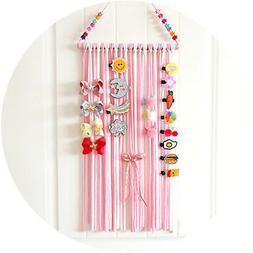 Kid Ribbon Hair Bow Hair Clip Holder Hanger Storage Organize