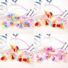 1-6Years Old Infant Kids Baby Girls Colorful Flower Hairband