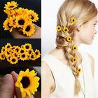 10 Pcs Boho Flower Little Daisy Hair Cuff Clip Headband Hair