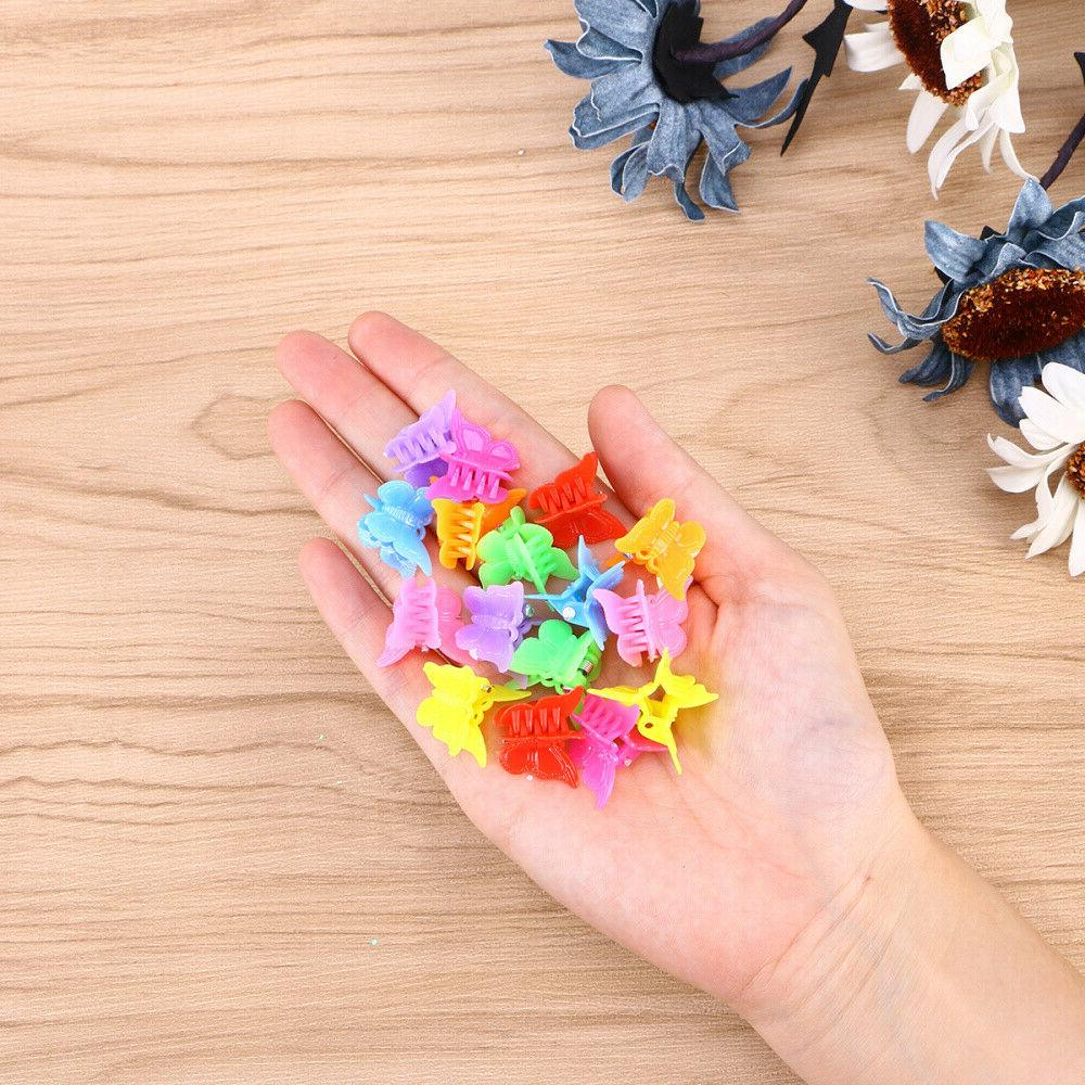 100Pcs Claw Barrettes Jaw Clip Hairpin Girls