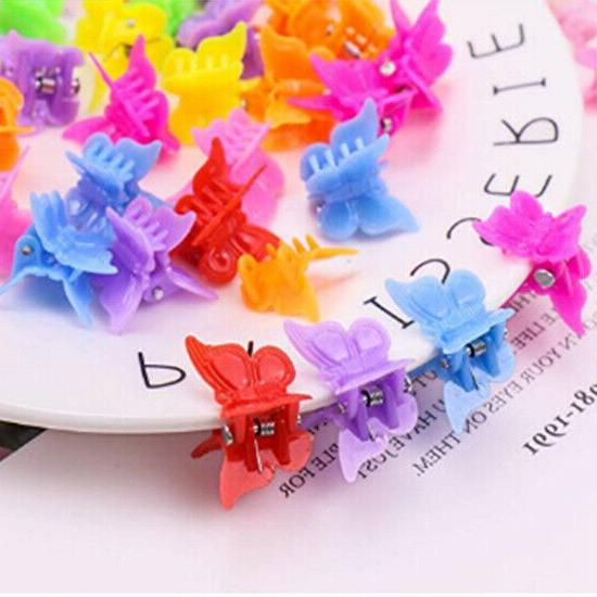 100 Packs Butterfly Hair Clips, Girls Beautiful Mini