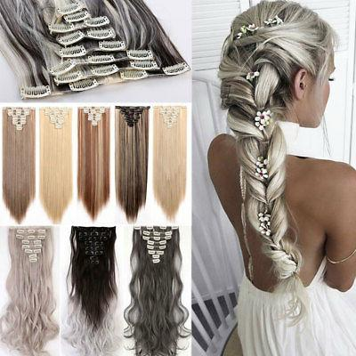 100 percent natural clip in hair extensions