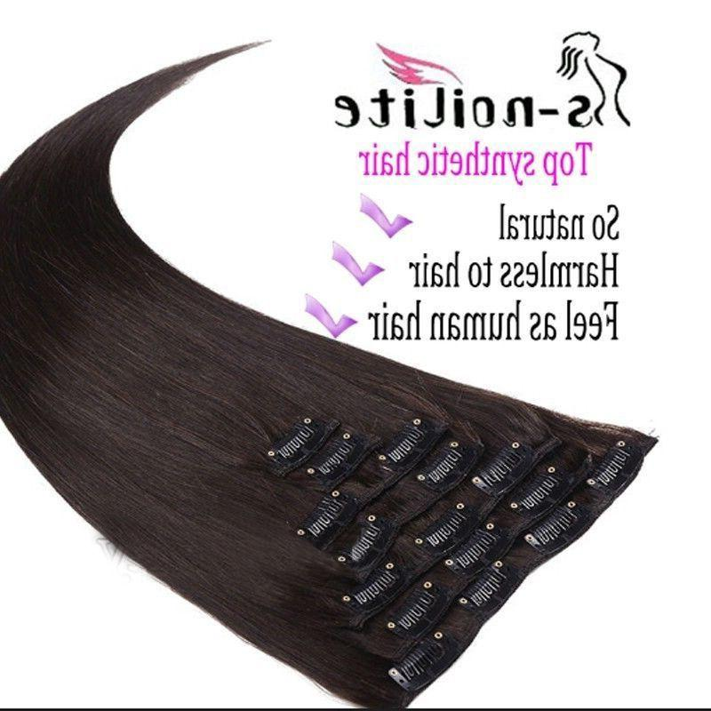 100% Real as Head Clip In Extensions