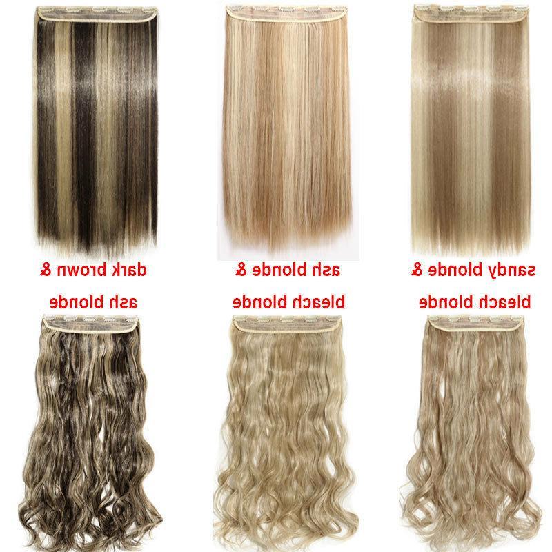 US 100% Hair Clip in Half Full Head as