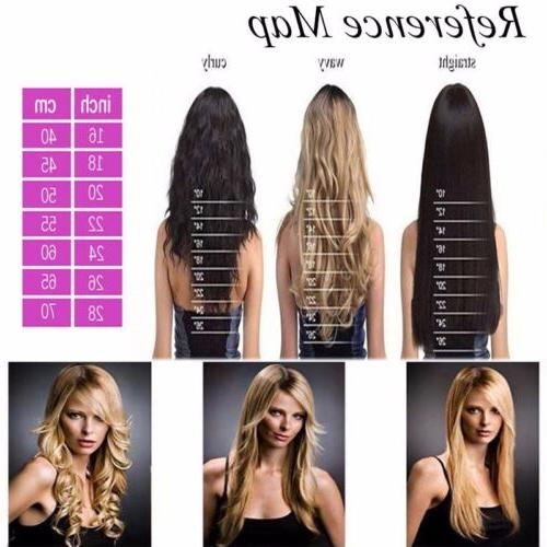 US 1Pcs Hair in Full as Human