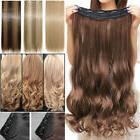 100% Real Thick Clip In Hair Extensions Full Head Hair Exten