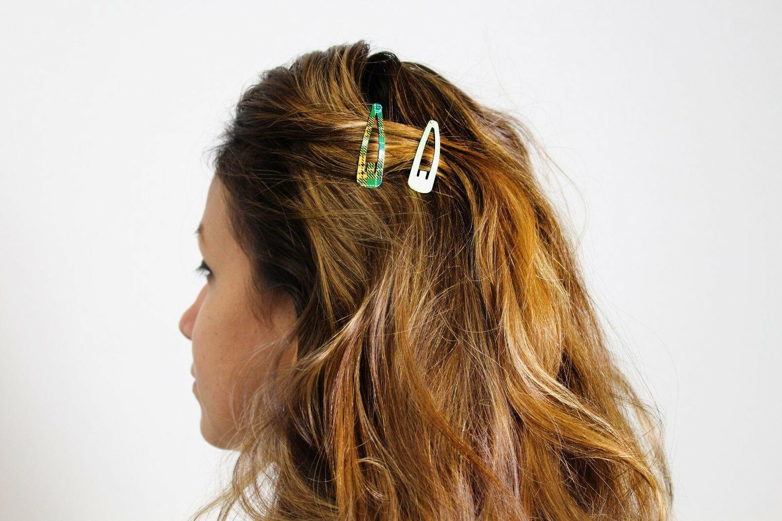 100pc Hair Clips Metal Barrettes BULK
