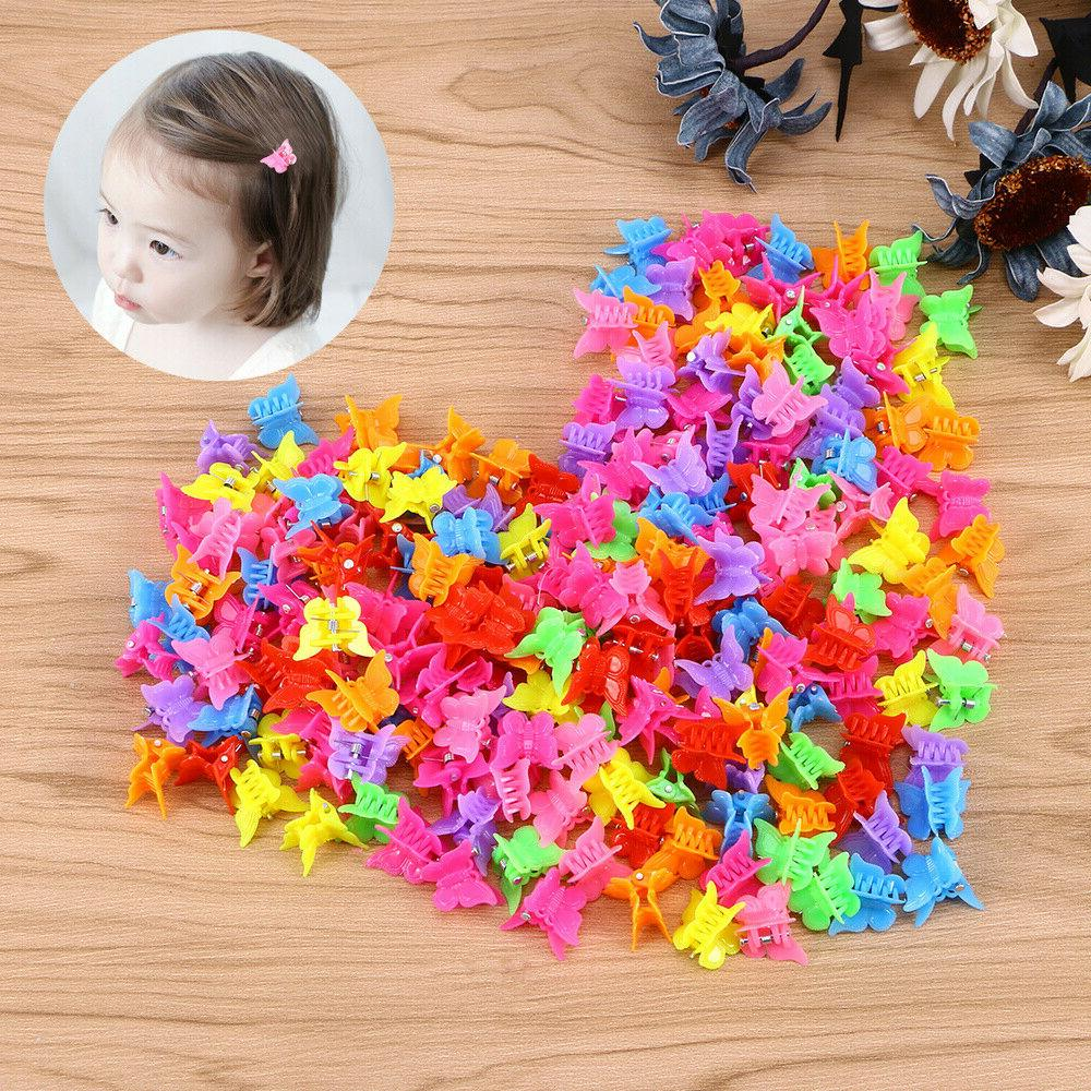 100Pcs Butterfly Claw Mini Clip for Women Girls