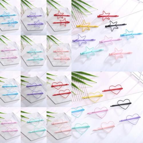 10Pcs/Pack Color Snap for Kids Girl Clips-