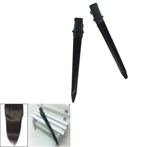 10pcs clips sectioning curling grip &
